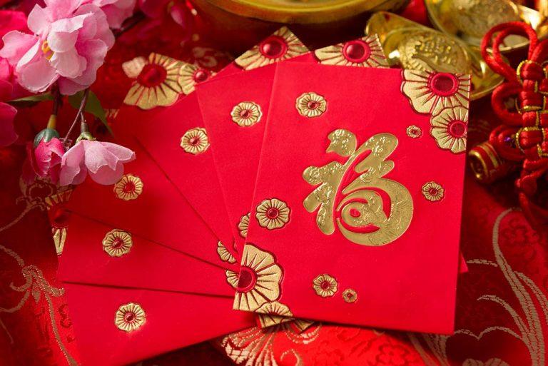 Des cartes traditionnelles que l'on s'offre lors du Nouvel An chinois