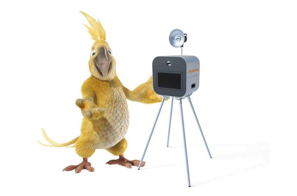 Pablo et le photobooth BURDDY, pour un EVJF original et déjanté !