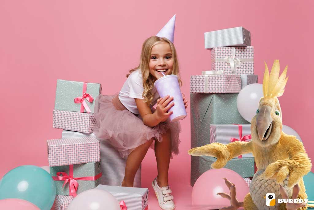 Les meilleures idées d'anniversaire pour enfants sont chez Burddy !