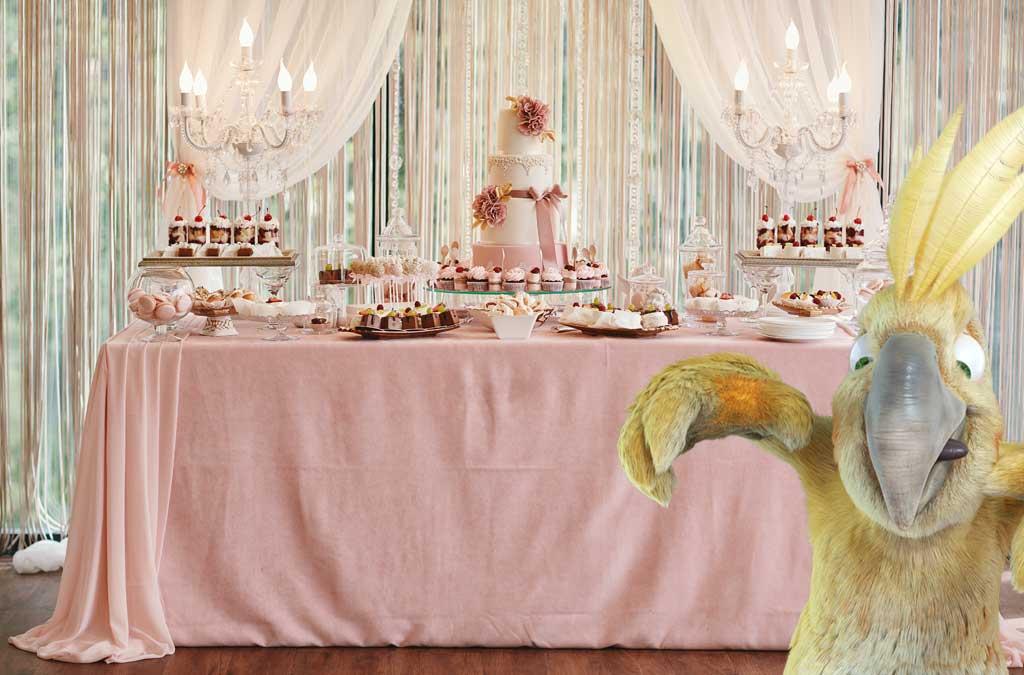 Un buffet de sucreries, l'indispensable pour ravir vos convives !