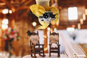 Optez pour des photos de mariage originales avec Burddy !