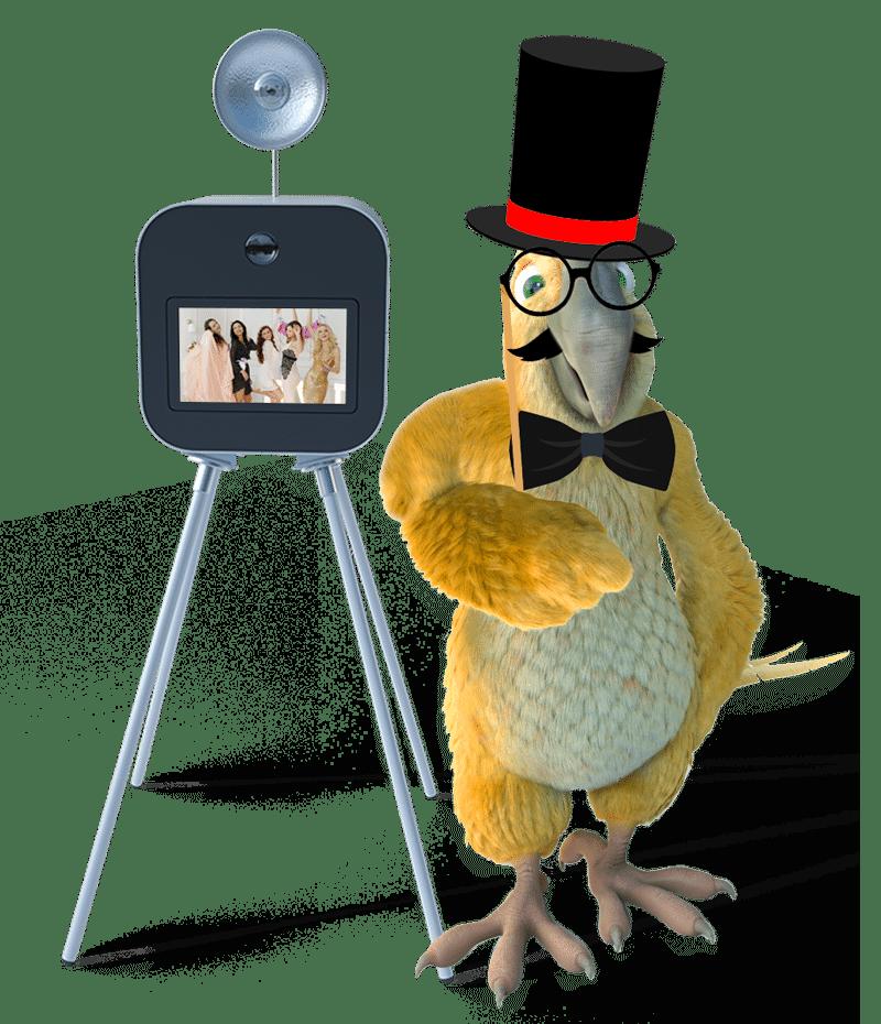 Le photobooth de mariage, l'animation incontournable avec BURDDY