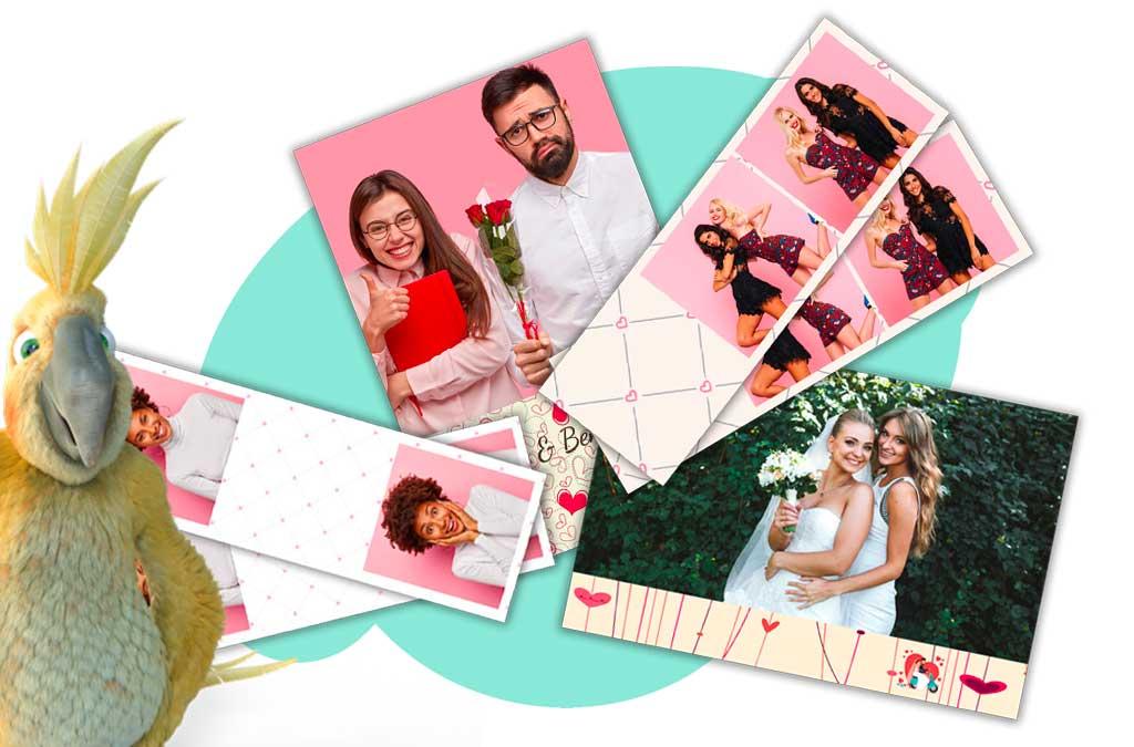 Les cadres photos personnalisés pour un photobooth de mariage qui vous ressemble !