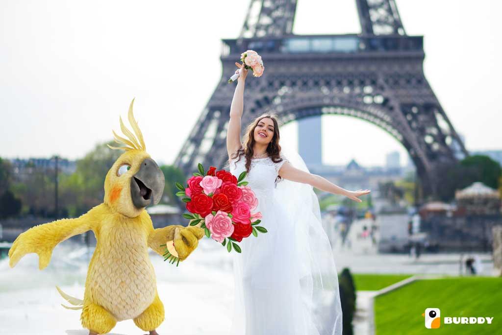 La location de photobooth à Paris avec BURDDY