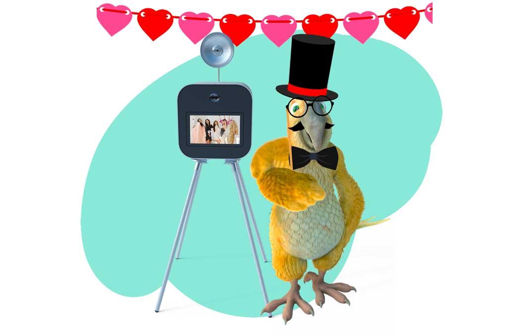 Le photobooth de mariage BURDDY, l'animation photo incontournable pour votre mariage !